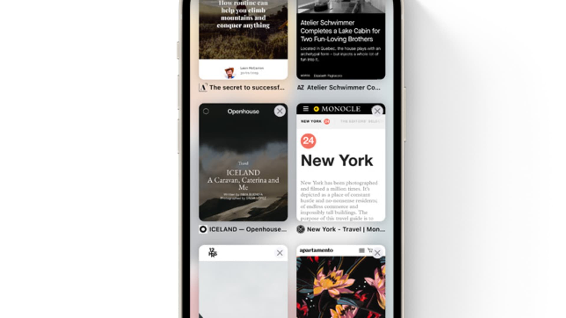 Safari in iOS 15 gets big changes, too.