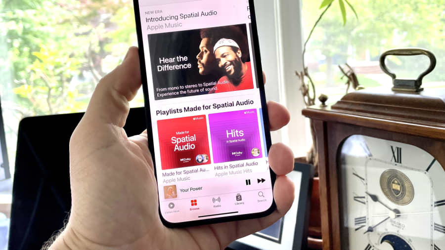 Apple Music with Dolby Atmos spatial audio