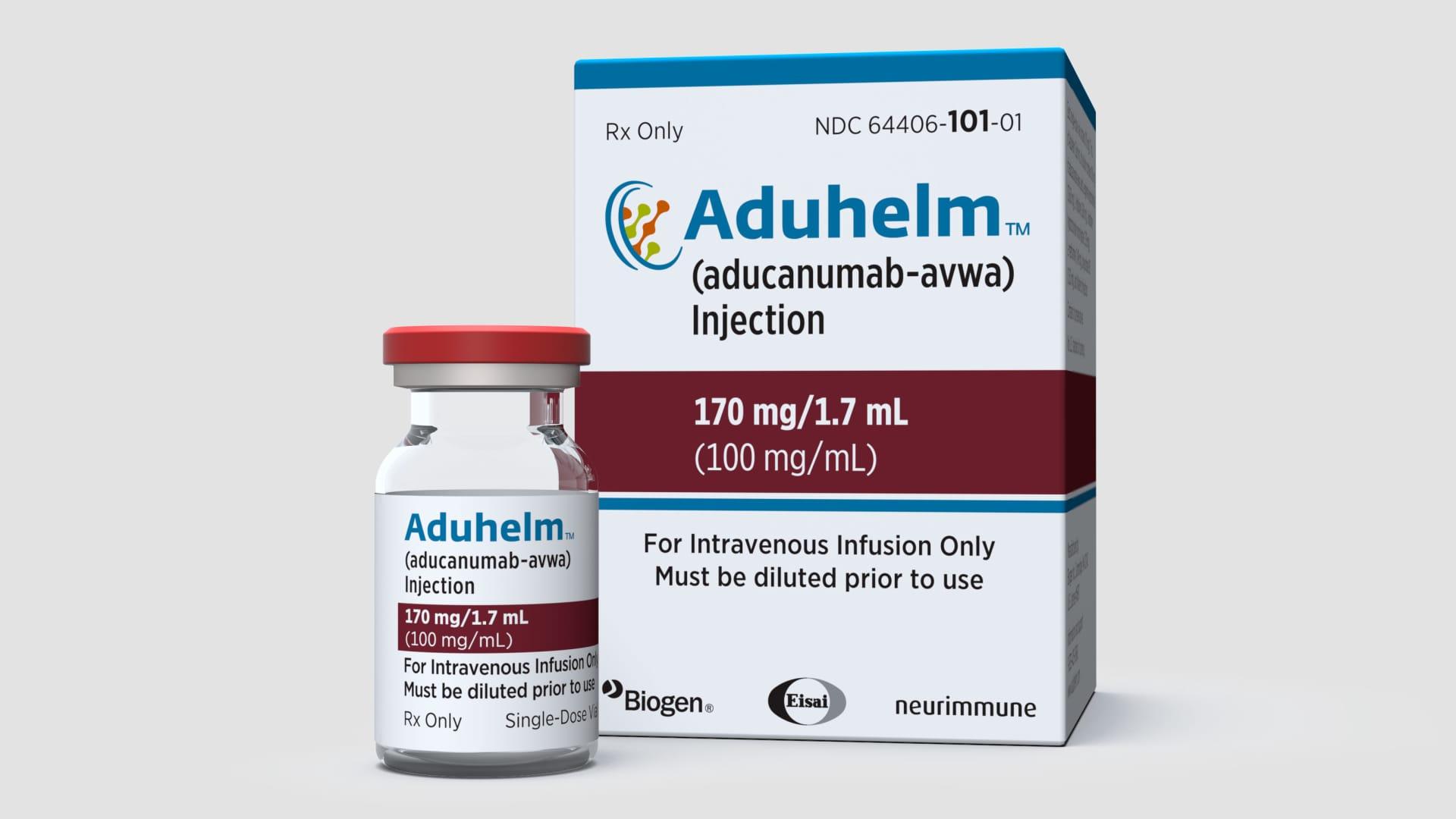Aduhelm by Biogen