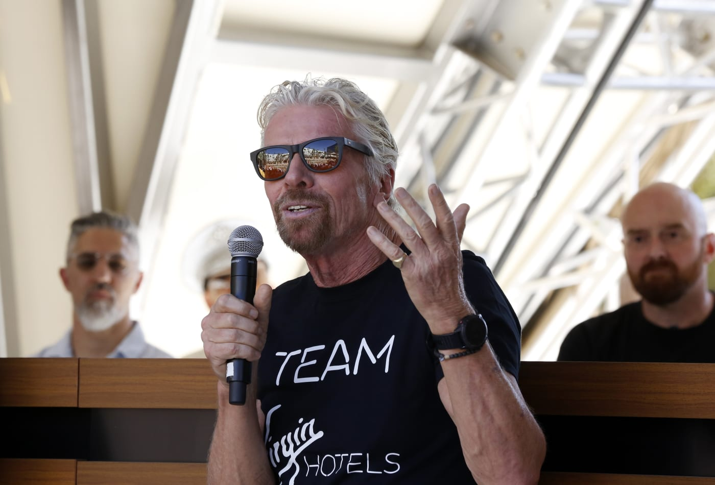 Billionaire Richard Branson has this advice for overcoming self-doubt
