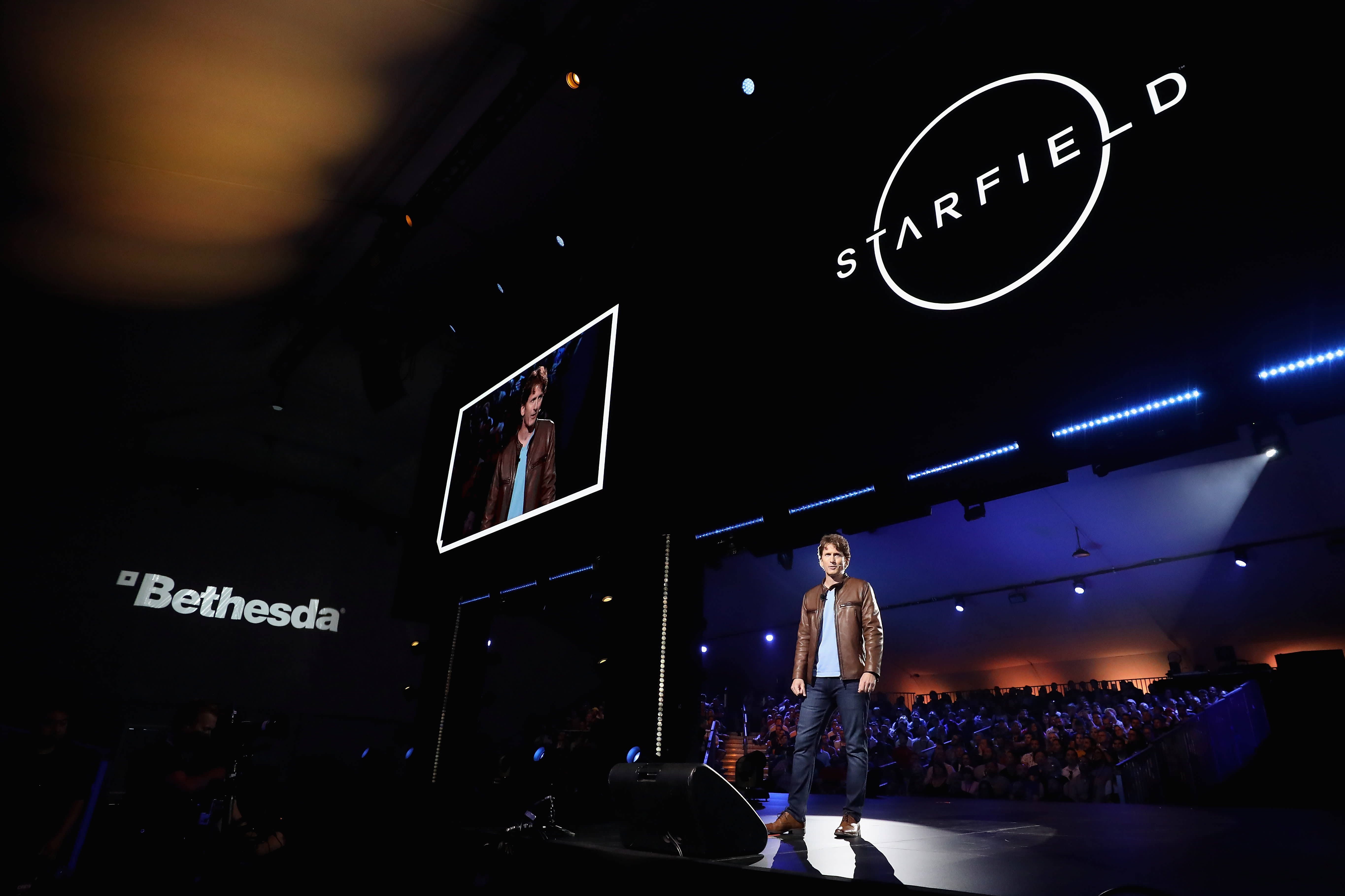 At E3 gaming event, Microsoft teases sci-fi epic Starfield while Ubisoft shows off new Avatar title