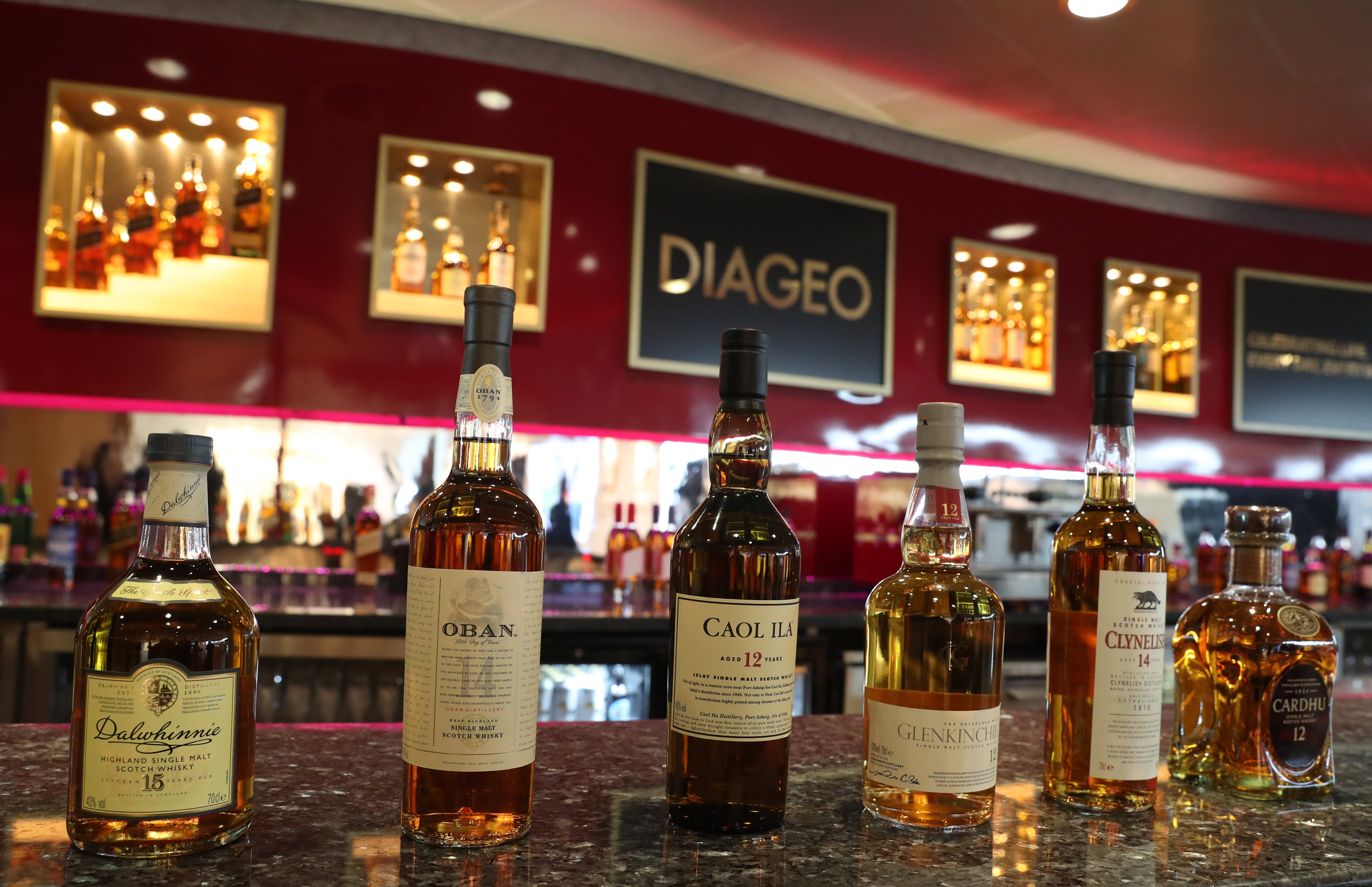 Diageo becomes first spirits company to sign sponsorship deal with NFL