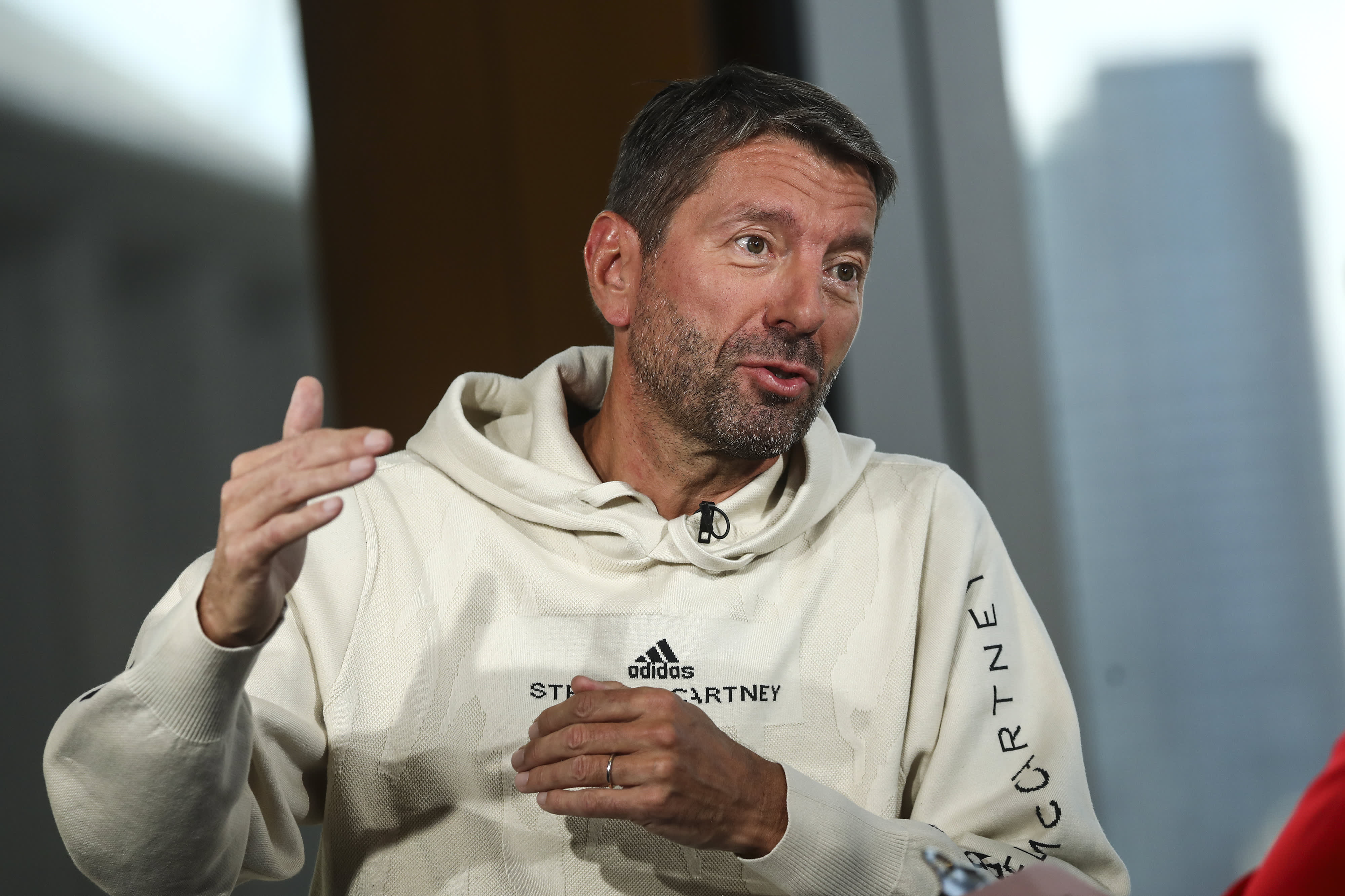 Adidas CEO Kasper Rorsted says consumers will force fashion industry to be more sustainable