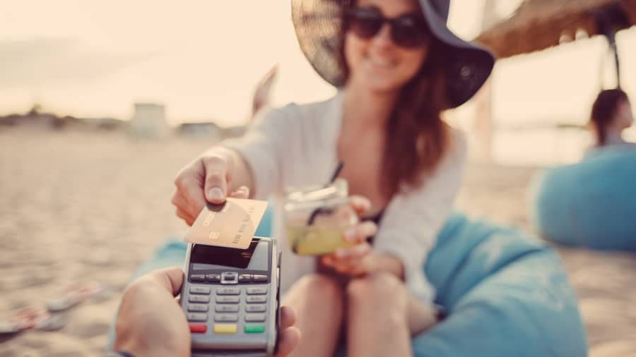 Fifty-six percent of travelers told Discover they'll use contactless payment methods more often while on trips this year.