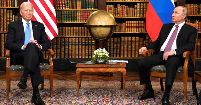 Biden and Putin conclude high-stakes diplomacy at Geneva summit