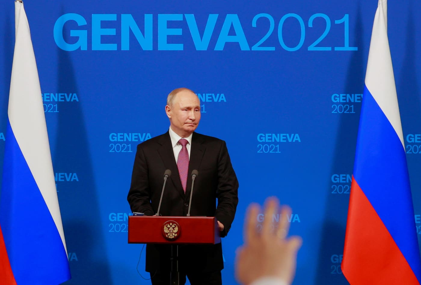 Watch live: Russian President Vladimir Putin speaks after meeting with Biden