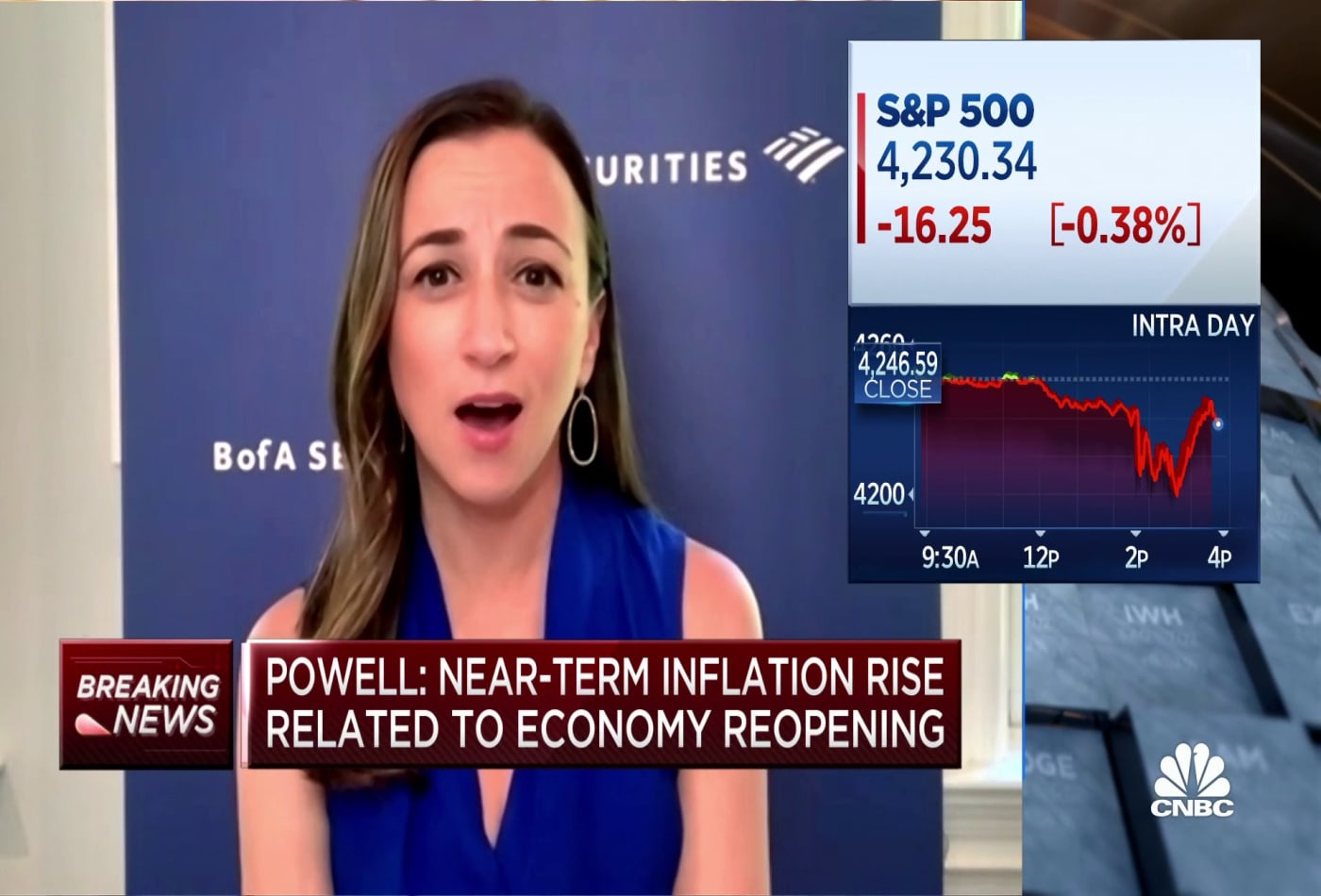 BofA's Michelle Meyer on Fed chair Powell's latest policy statement