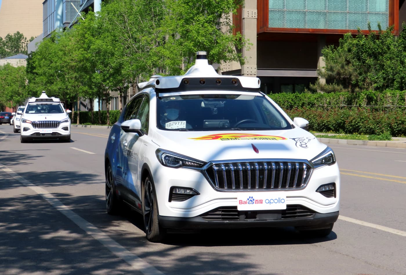 Baidu pushes to put driverless taxis on China's roads, pledging to build 1,000 in 3 years