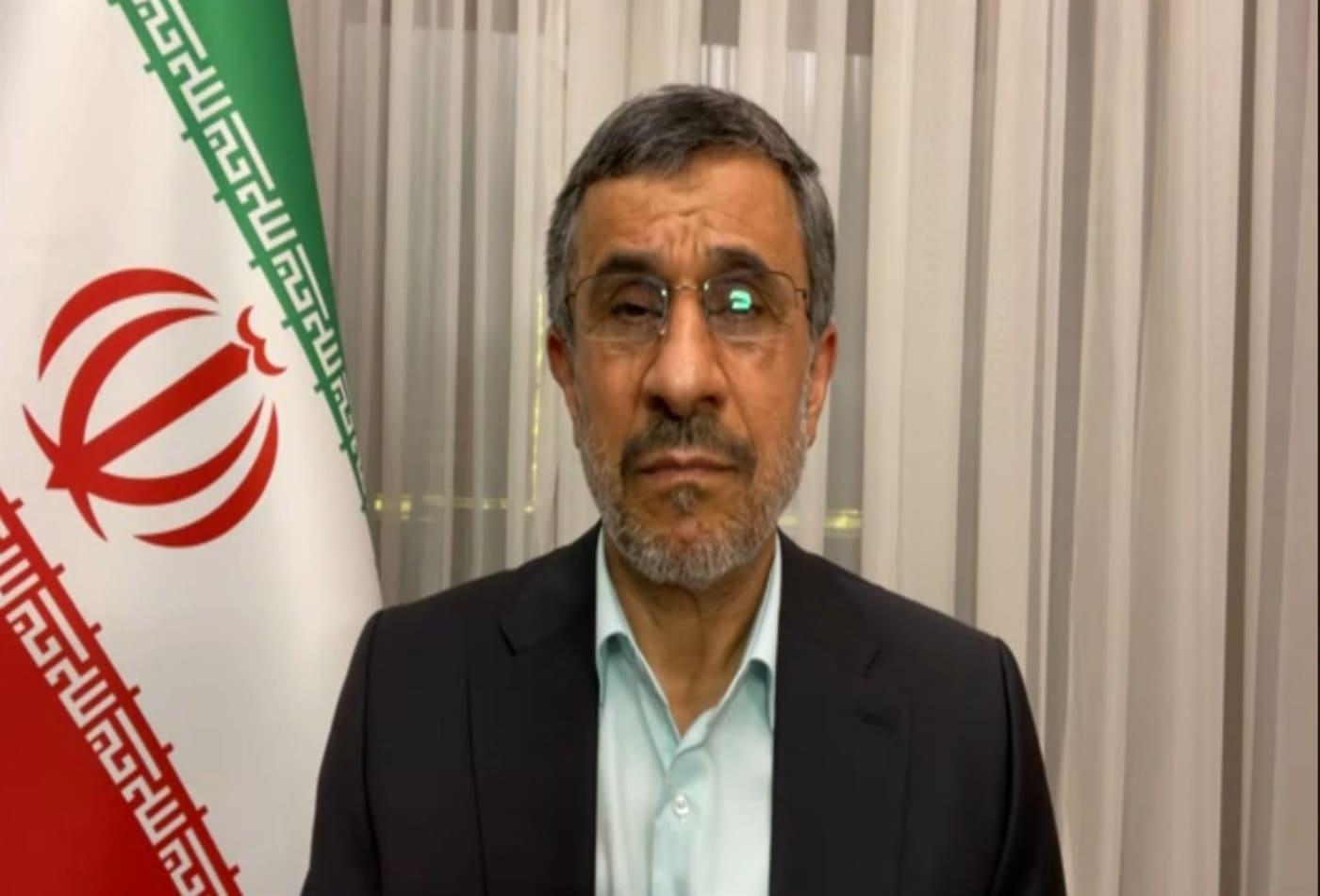 Former Iran President Mahmoud Ahmadinejad discusses nuclear deal