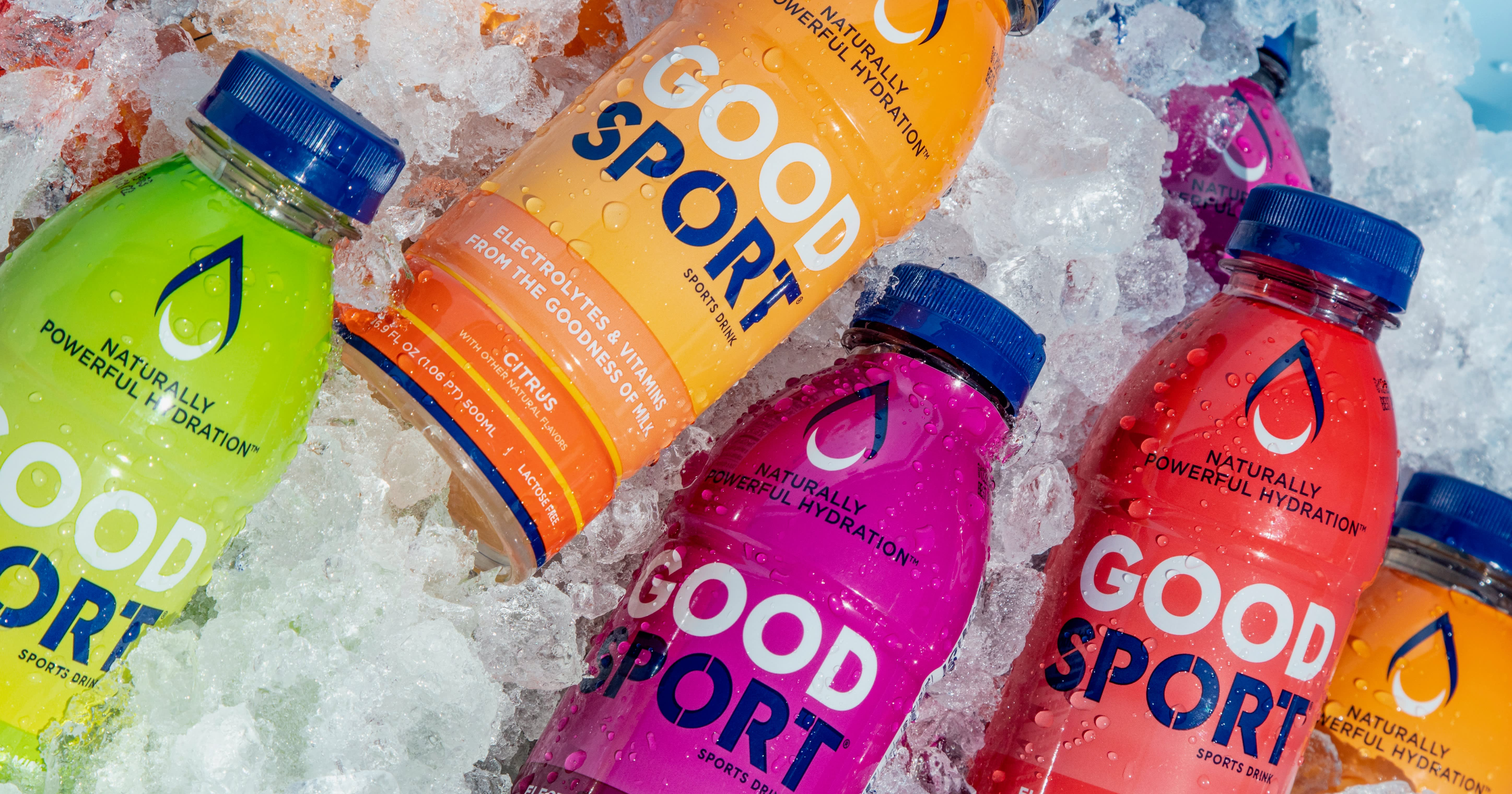 Here's the story behind GoodSport's milk-based sports drink, which started as a secret between a mother and her son