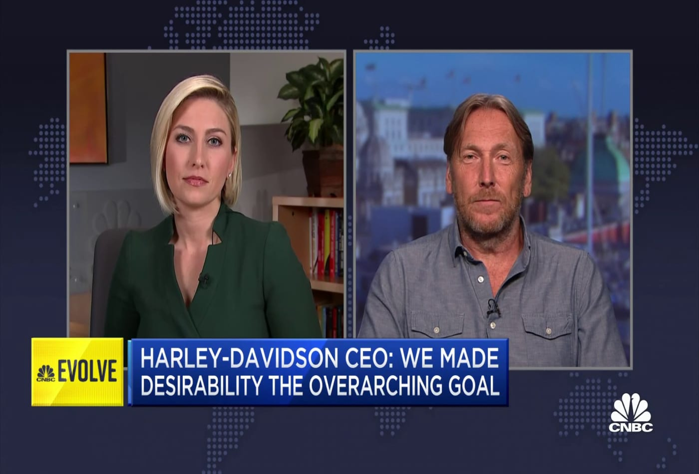 Harley-Davidson CEO: We made desirability the overarching goal