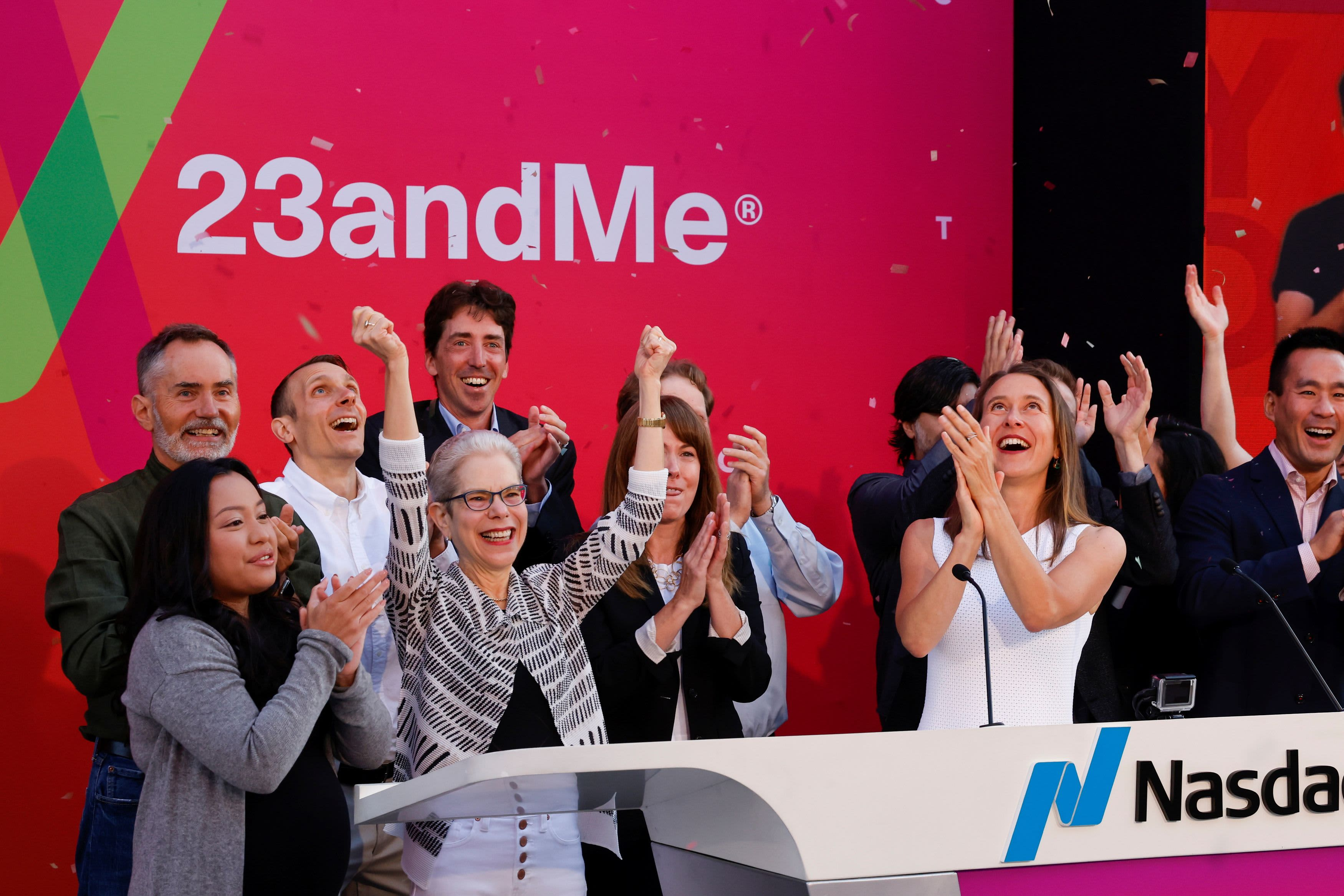Genetic testing company 23andMe rises in first trade after Richard Branson SPAC merger