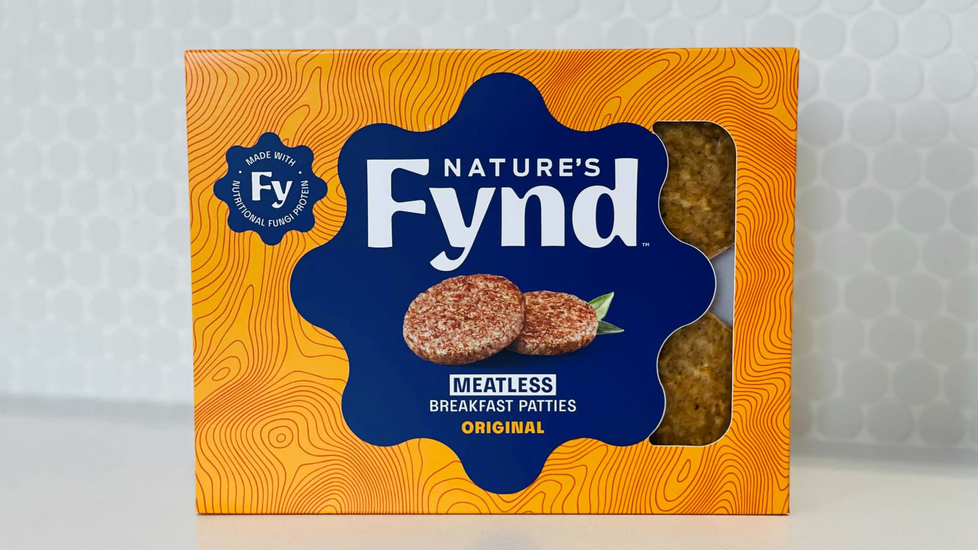 With $158 million in funding from Jeff Bezos, Bill Gates, Al Gore and other investors, Nature's Fynd meatless breakfast patties and hamburgers, dairy-free cream cheese and yogurt, and nuggets, minus chicken, are scheduled to hit grocers' shelves later this year.