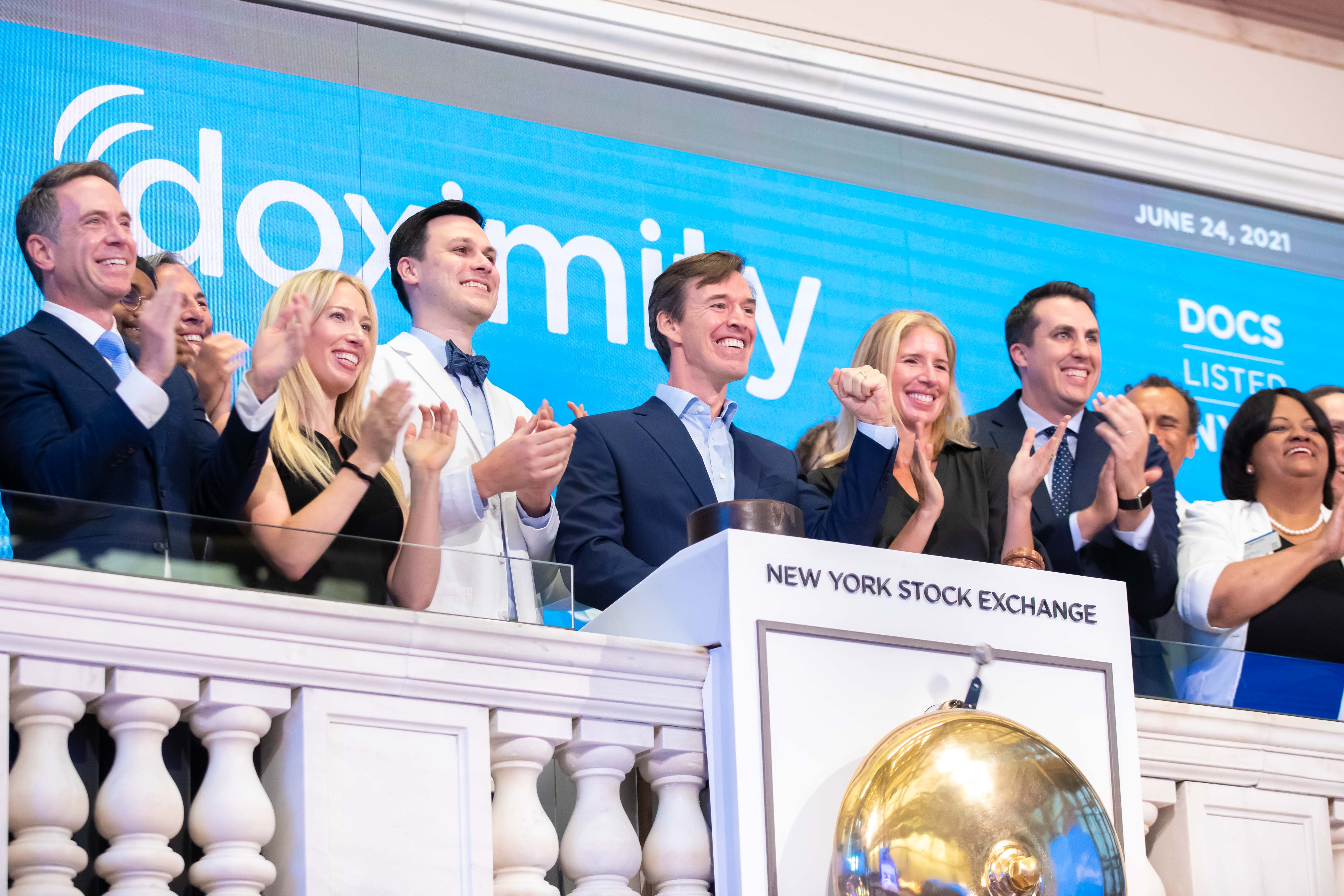 Doximity more than doubles in NYSE debut, giving health-tech company $9.4 billion market cap