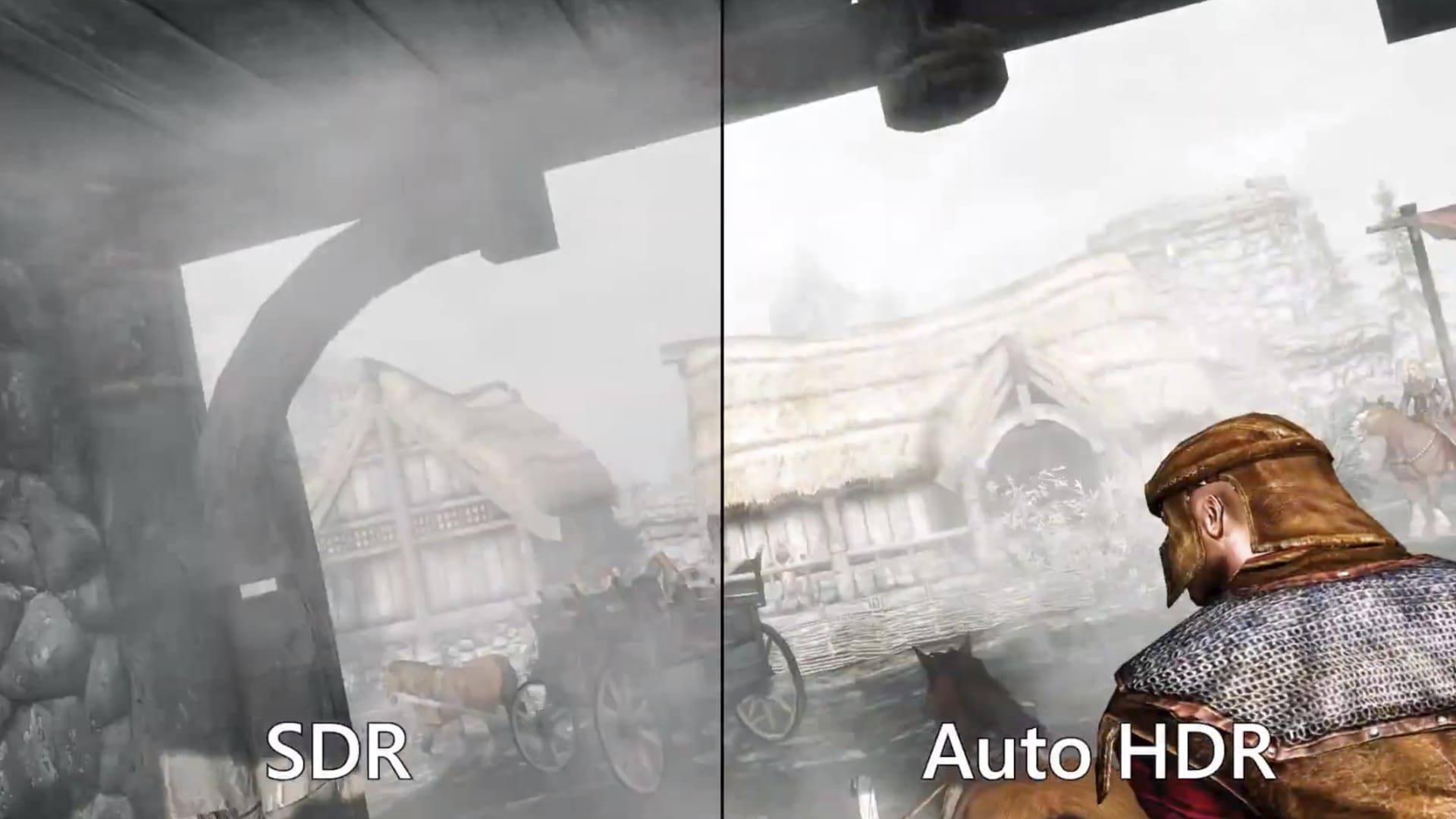 Gaming with auto HDR