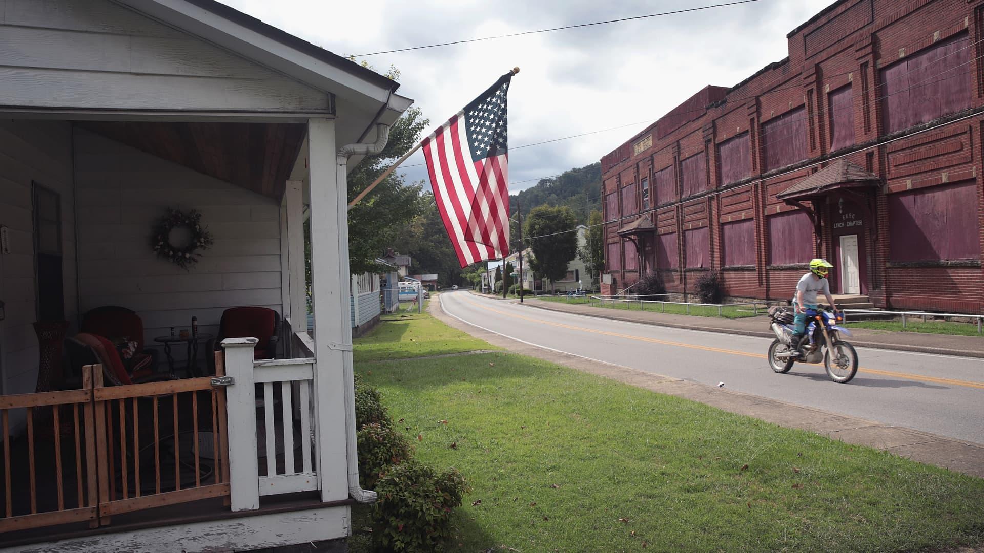 A home in Lynch, Kentucky.