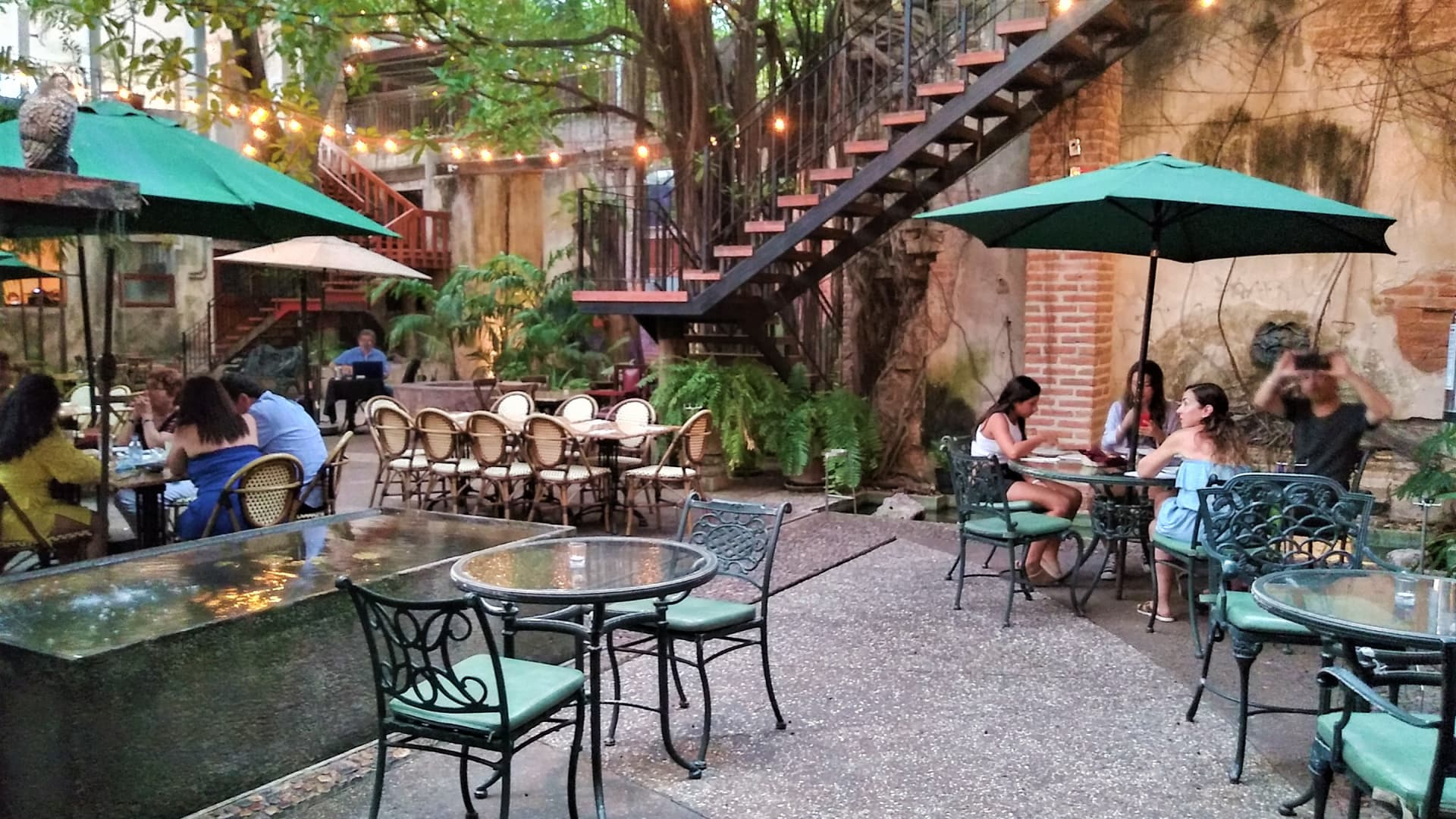 Mazatlán's Centro Historico is full of beautiful, renovated turn-of-the-century buildings, like Casa Garcia, a family hacienda transformed into an upscale restaurant and bar.