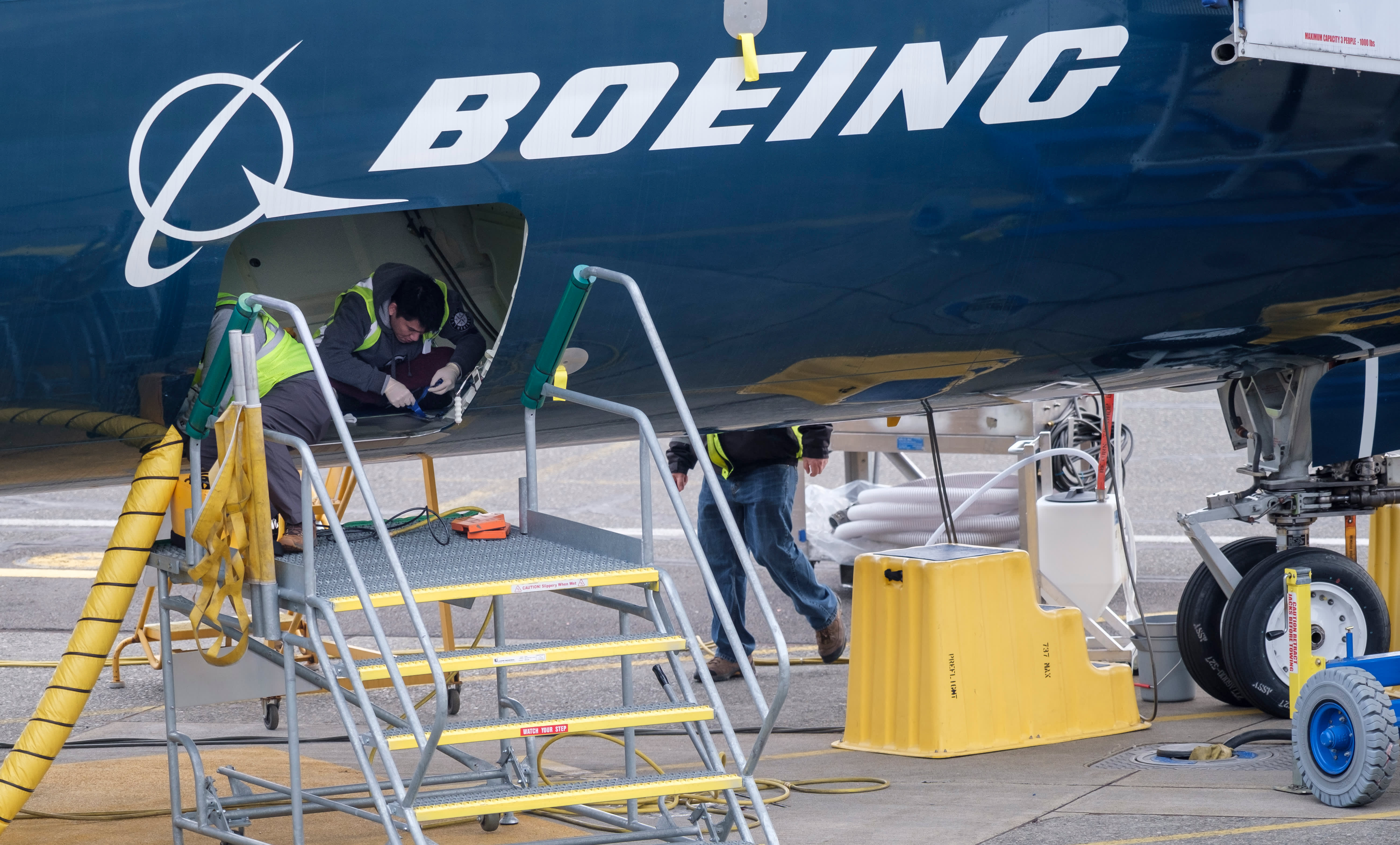 Stocks making the biggest moves midday: Boeing, Carnival, Goldman Sachs and more