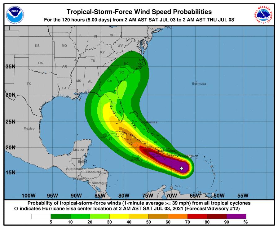 Miami-Dade preparing for Tropical Storm Elsa as condo collapse search continues
