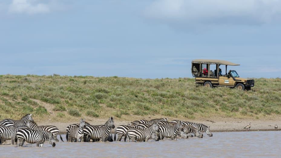 """I viaggiatori in Africa """"stanno godendo di un livello di esclusività che non si vedeva da un secolo"""", ha affermato Kent Redding di Africa Adventure Consultant."""