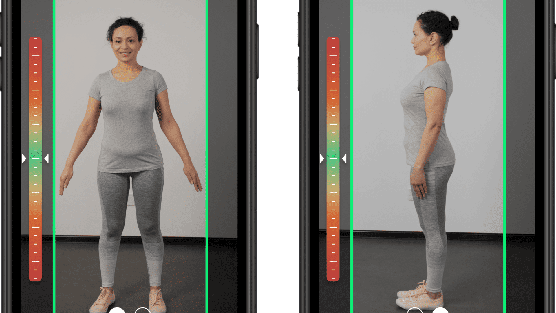 3DLOOK's virtual fitting room technology gives users recommendations for styles based on their sizes.