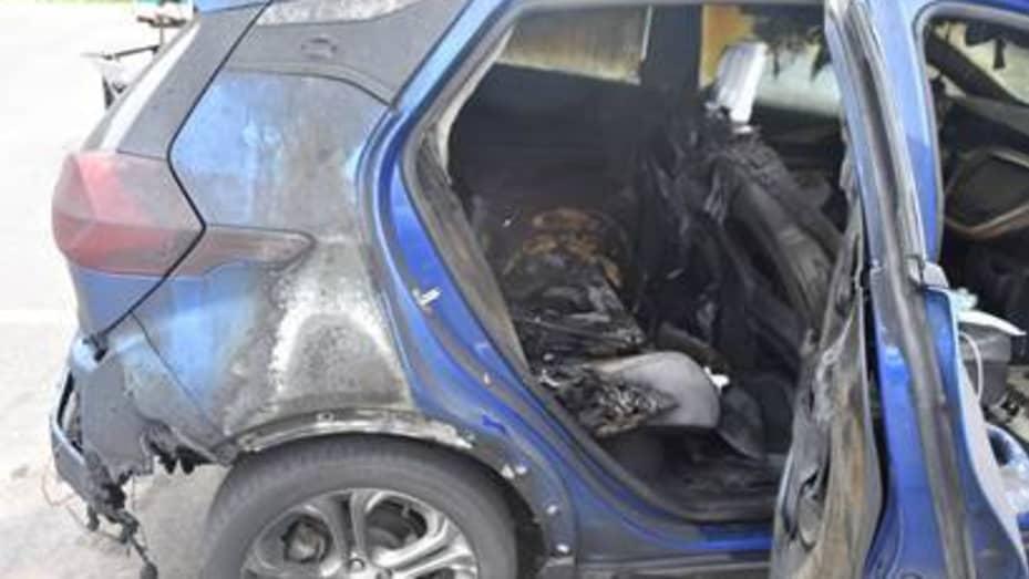 2019 Chevrolet Bolt EV fire