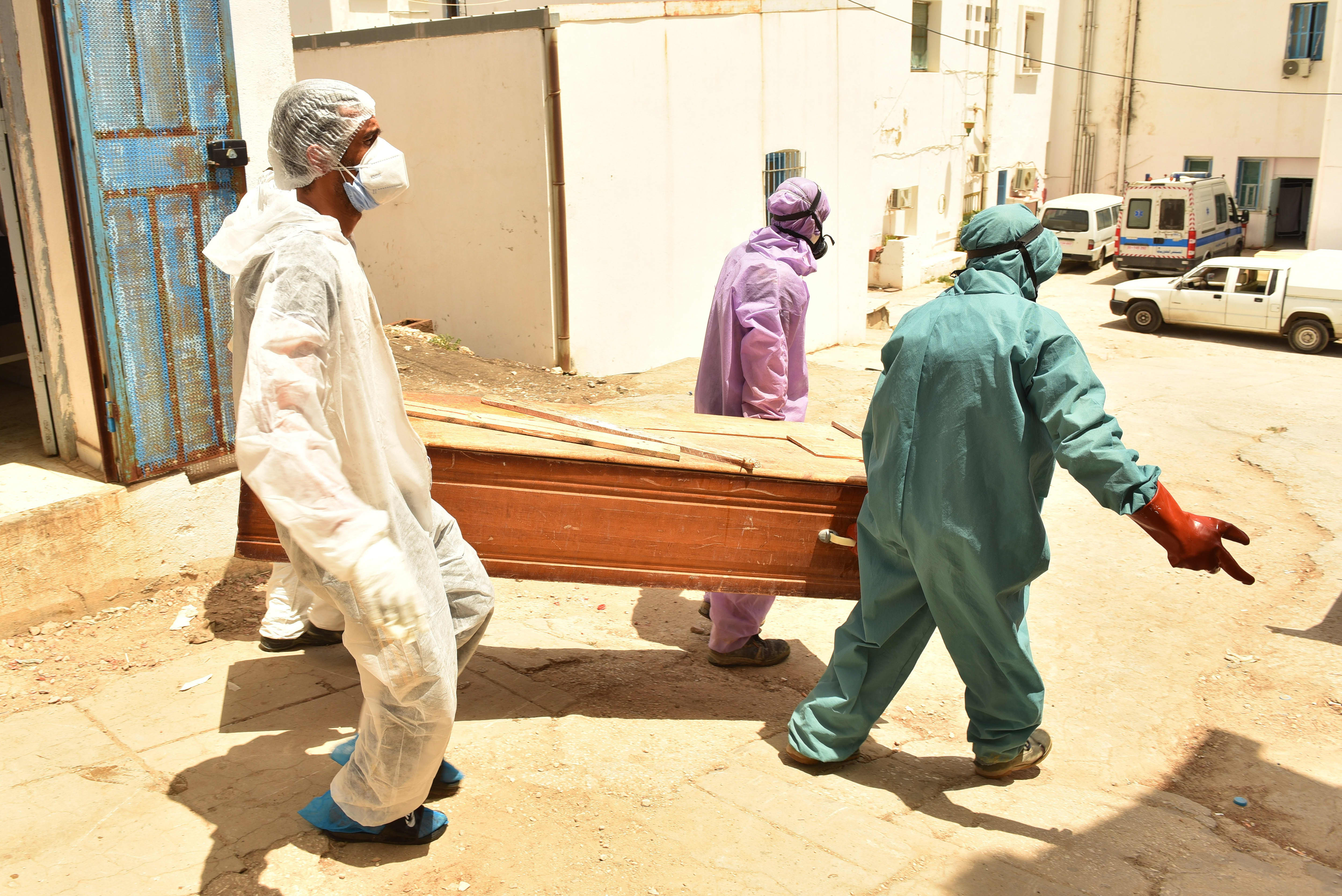 Image Africa suffers worst surge in Covid cases as delta variant spurs third wave of pandemic