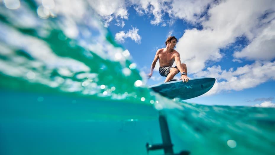 Perusahaan Puerto Rico Lift Foils adalah salah satu perusahaan yang menjual papan hidrofoil