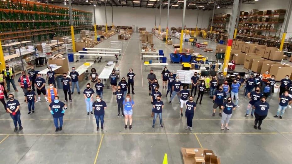 ShipBob fulfillment center in Moreno Valley, California
