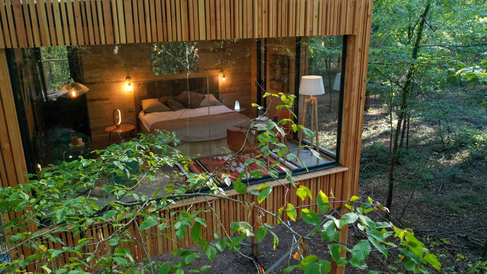 Loire Valley Lodges leans heavily upon local produce and grows herbs and fruit on-site, according to its website.