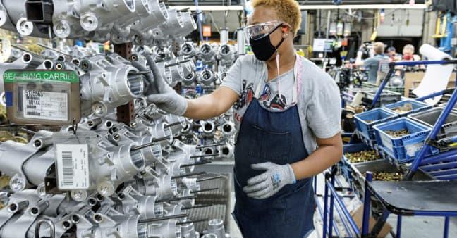 U.S. GDP rose 6.5% last quarter, well below expectations