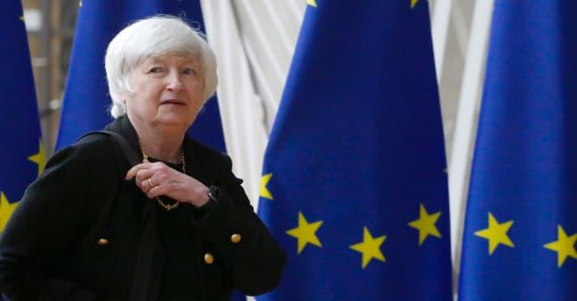 Yellen says Biden's agenda is key to keeping U.S. the 'world's pre-eminent economic power'