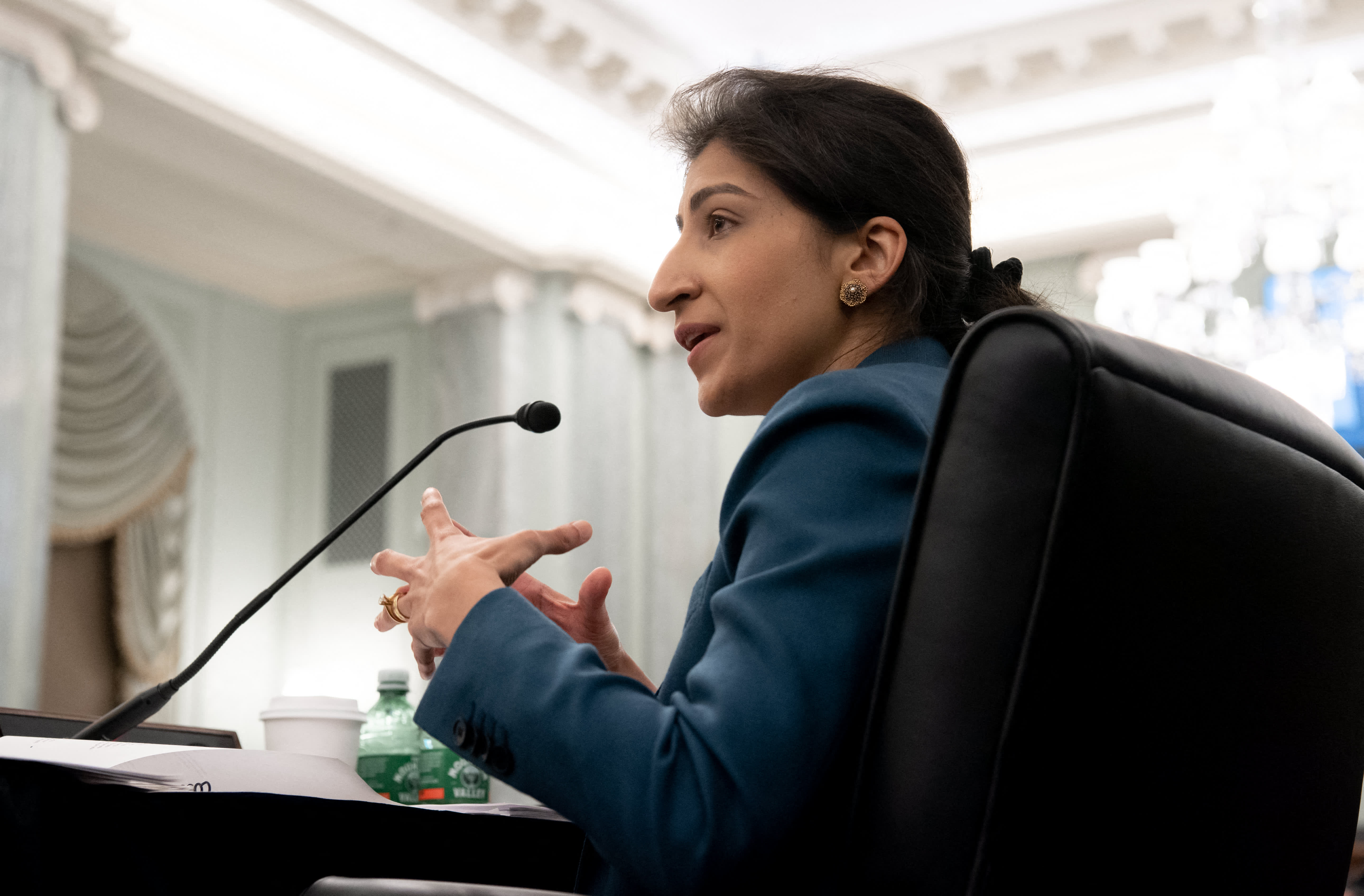 Huge Tech is making an attempt to disarm the FTC by going after its greatest weapon: Lina Khan