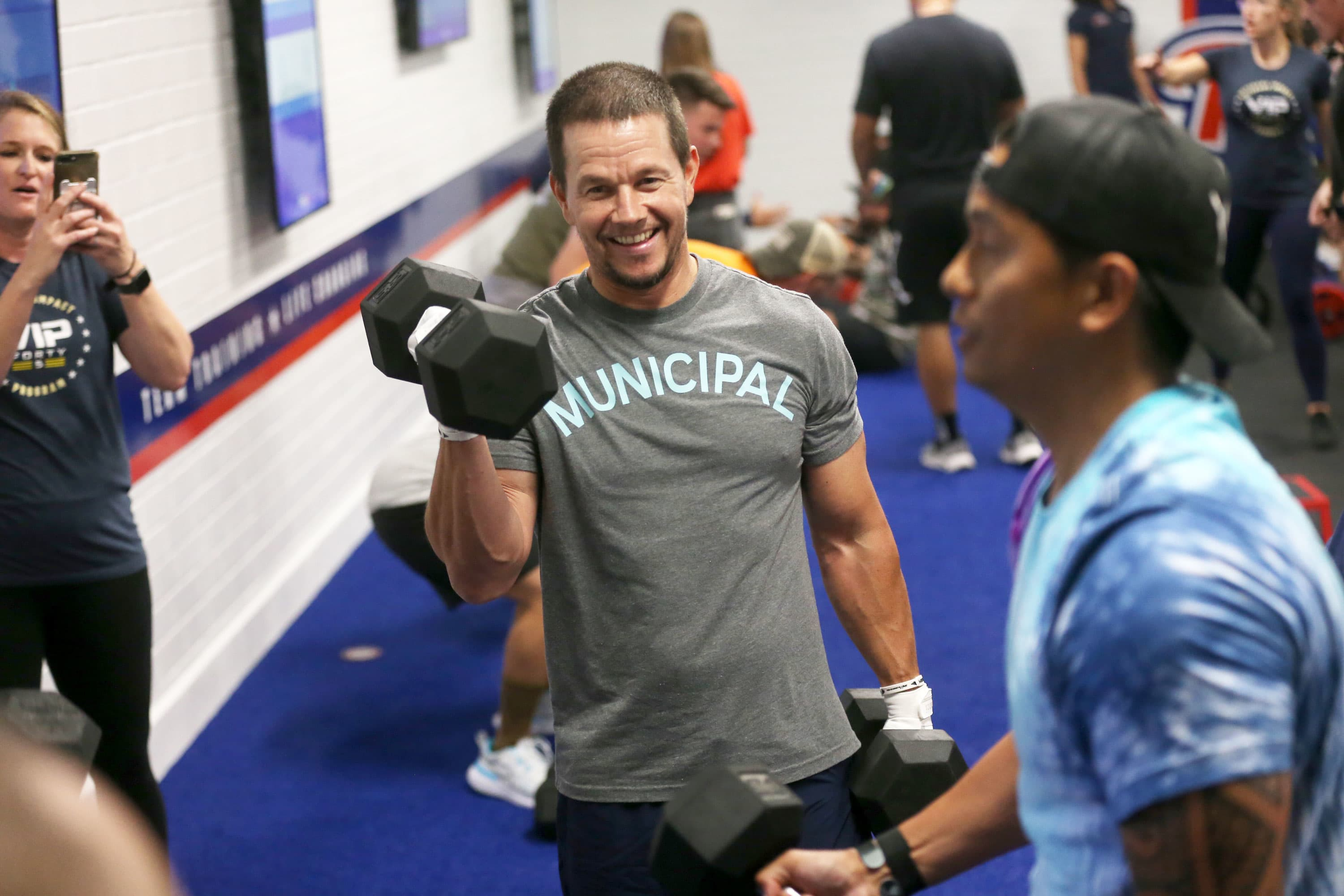 Mark Wahlberg-backed F45 pops on IPO day. The actor says the workouts have incredible energy