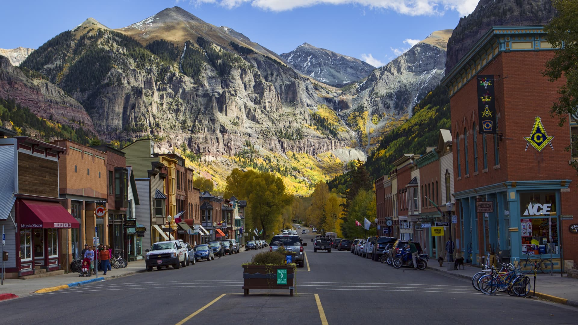 Though travel bookings haven't returned to pre-pandemic levels in most U.S. locations, it may not feel that way for people who vacation in places such as Telluride, Colorado.