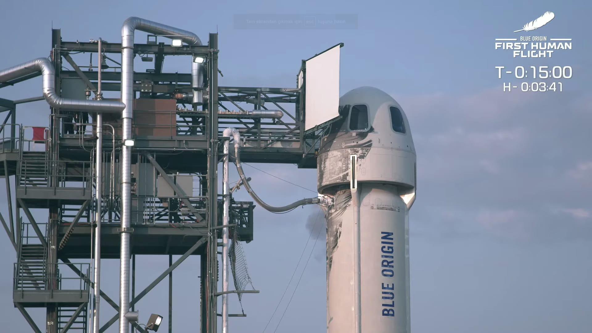 Jeff Bezos says Blue Origin sales of space tourist flights are 'approaching $100 million' already