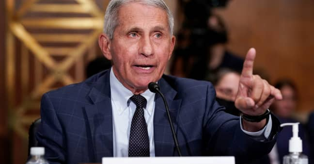 Fauci defends FDA panel, says it didn't make a mistake rejecting booster Covid shots for all Americans