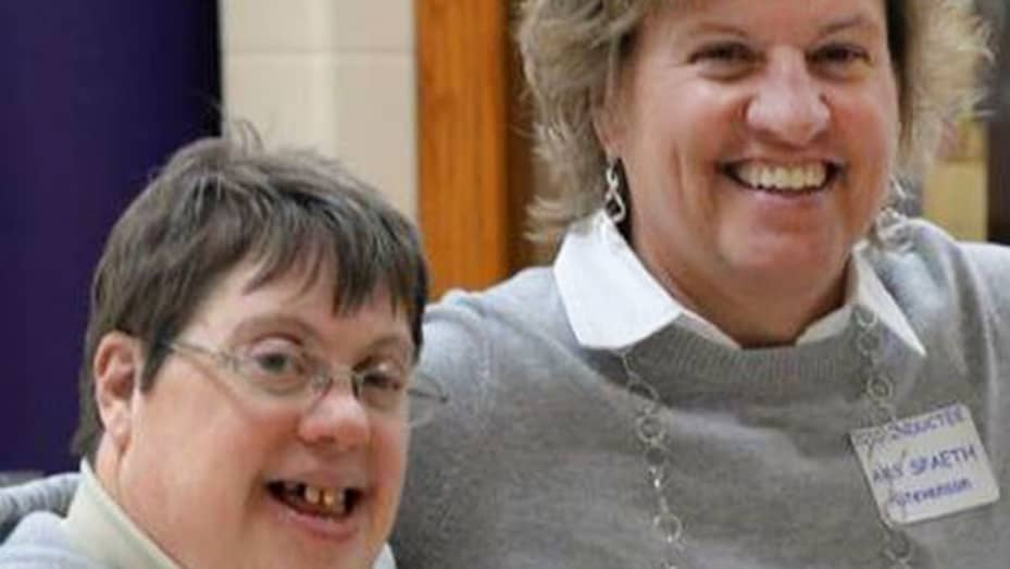 Marlo Spaeth (left) was fired from Walmart in July 2015, after working there for nearly 16 years. Her sister, Amy Jo Stevenson, has been in a legal battle with the retail giant since then. She filed a discrimination complaint with the U.S. Equal Employmen