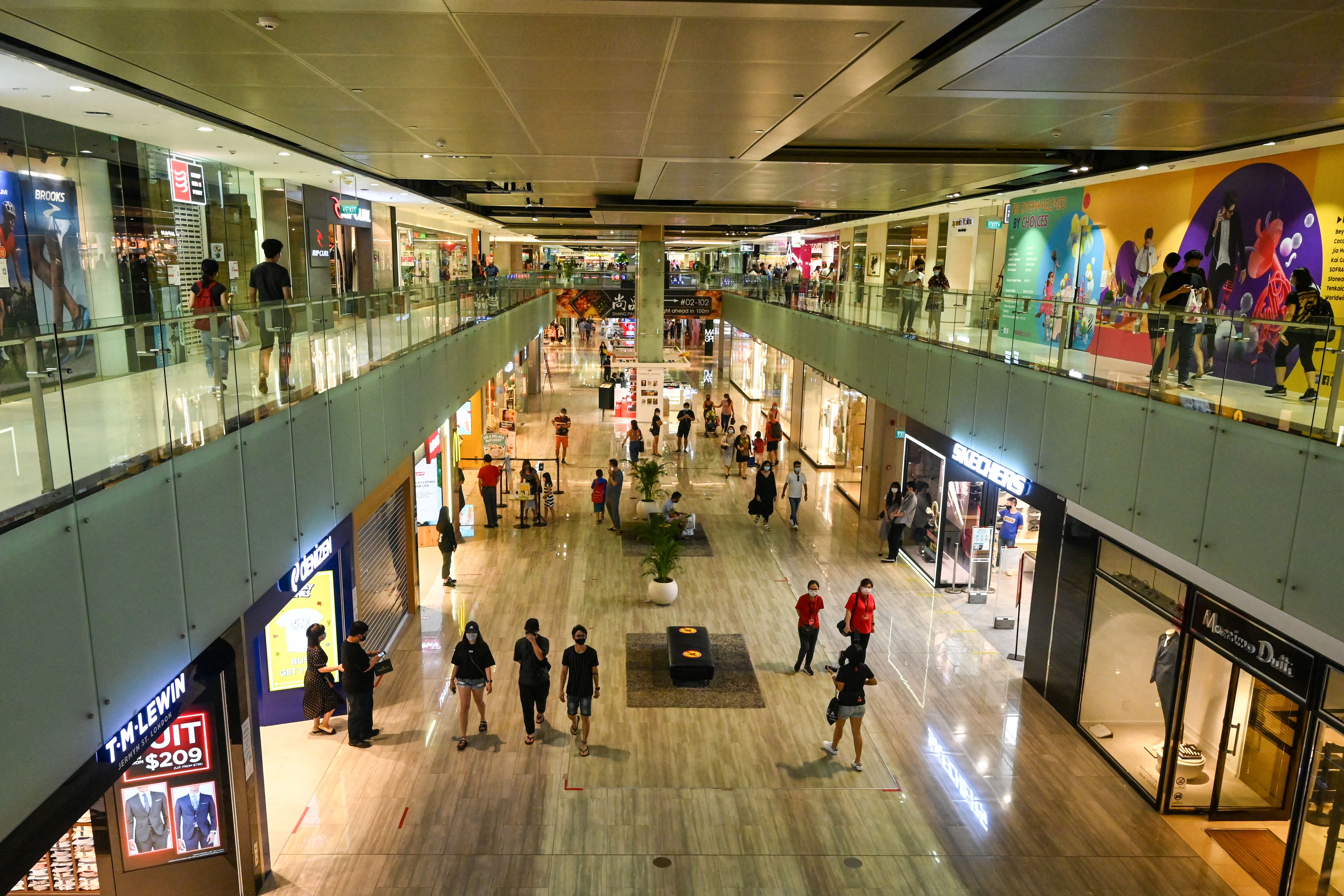 Singapore retailers are reeling from further Covid measures as sales drop 70% for some thumbnail