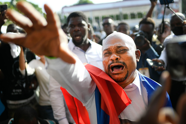 U.S. delegation cuts Haiti trip short after gunshots reported at president's funeral