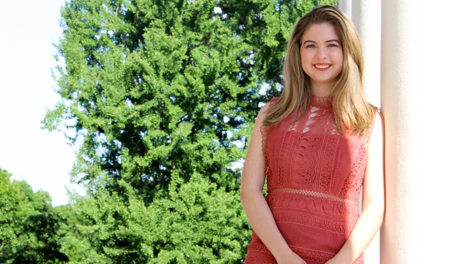 Susie Juarez, a 2021 graduate from the University of Virginia