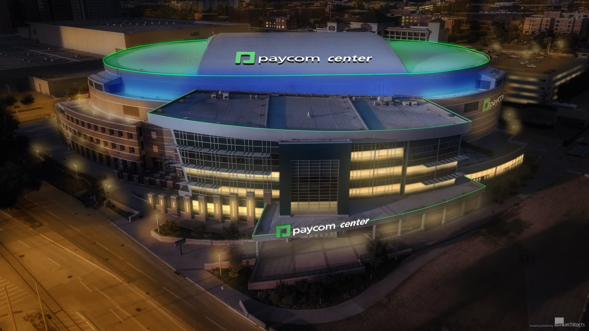 NBA's Oklahoma City Thunder arena will be called Paycom Center in 15-year deal