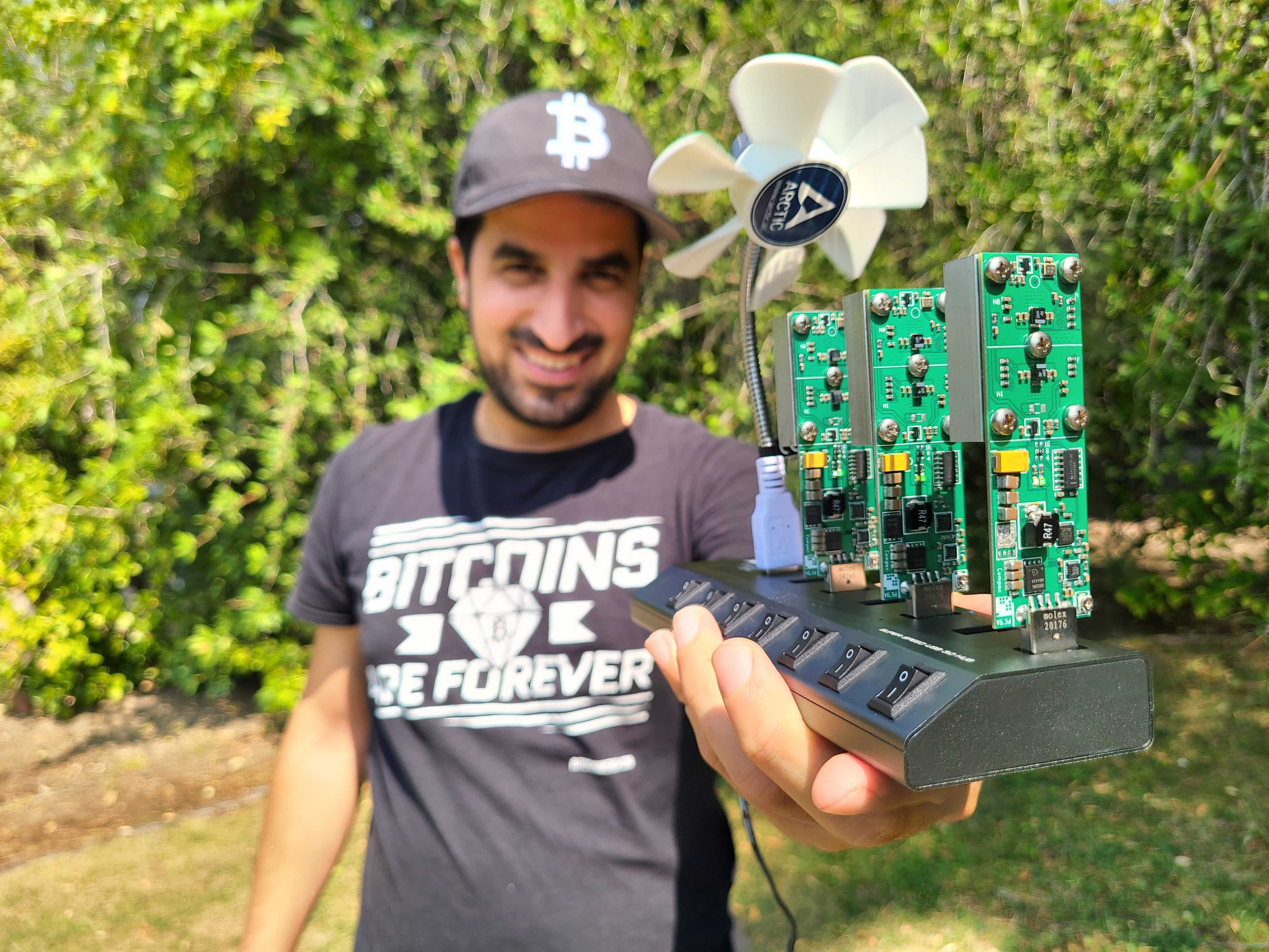 This $875 crypto mining rig went viral on TikTok, but it's not very lucrative
