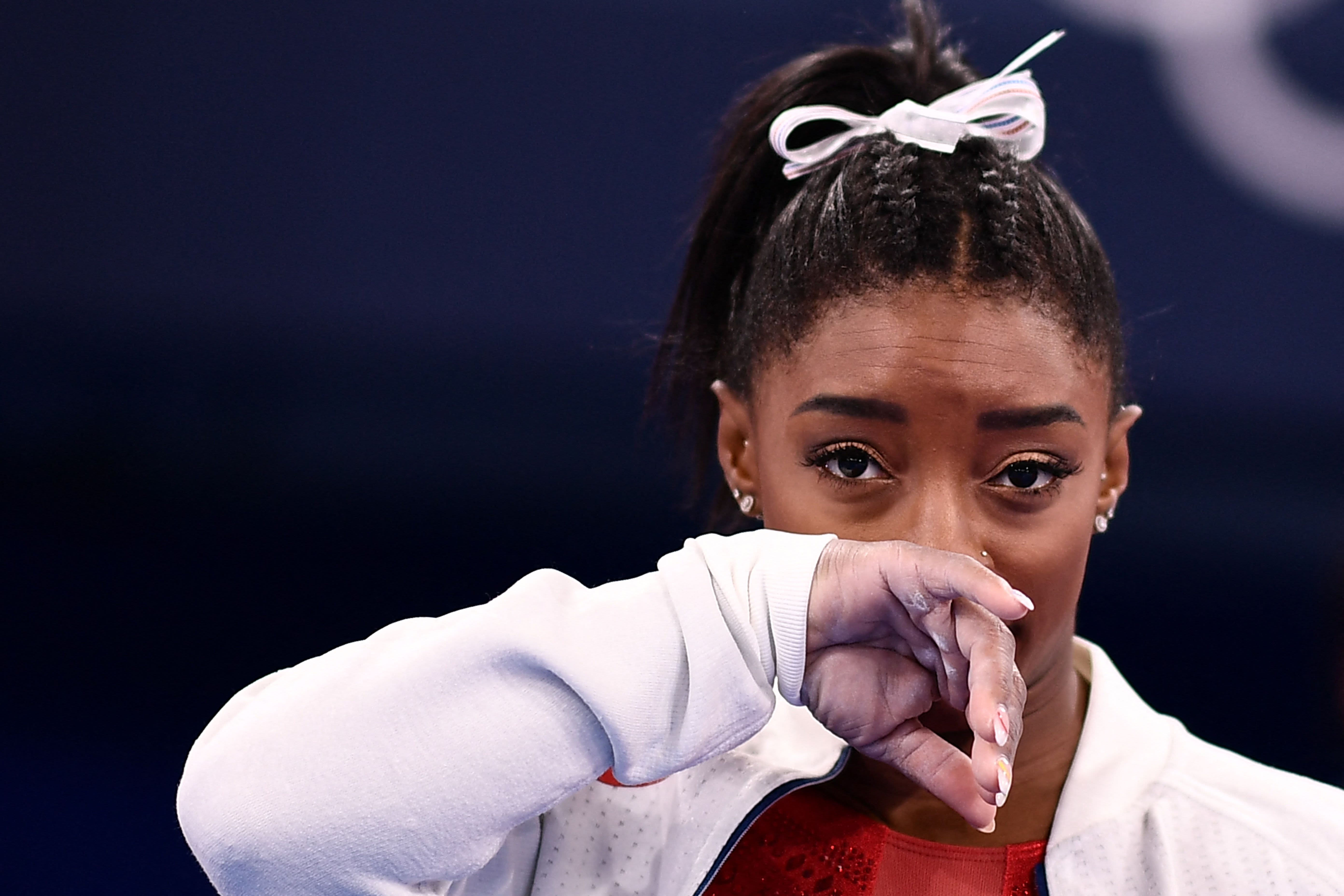 Simone Biles withdraws from individual all-around gymnastics final at Tokyo Olympics
