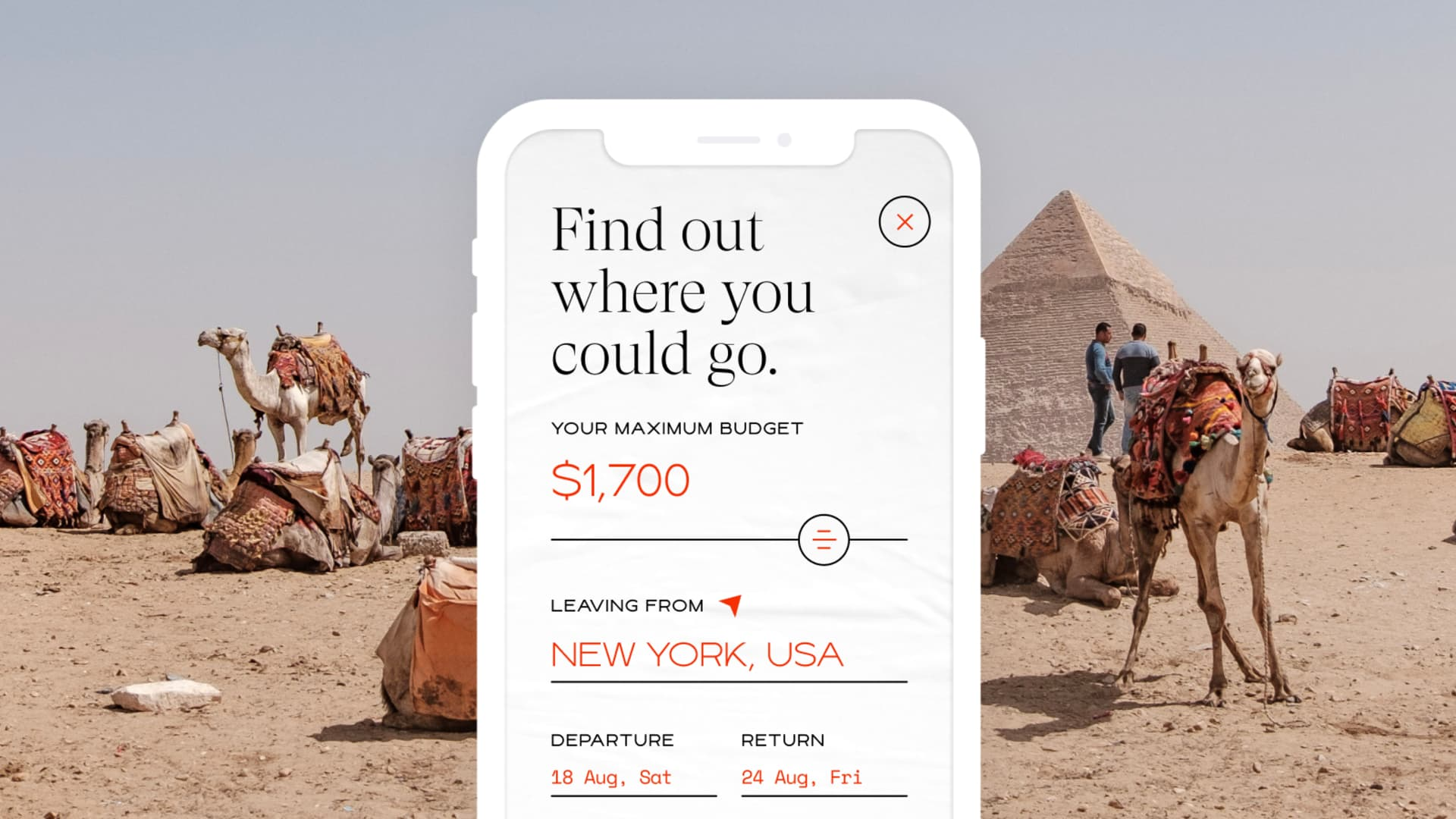 New travel app Elude matches users and their budgets with affordable trips.