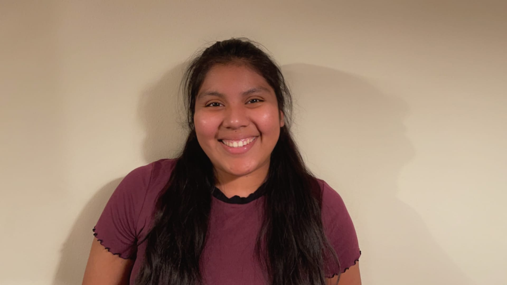 Guillermina Gutierrez Martinez, a senior at the University of Washington Seattle, took time off during the pandemic but is now enrolled and working for the university.