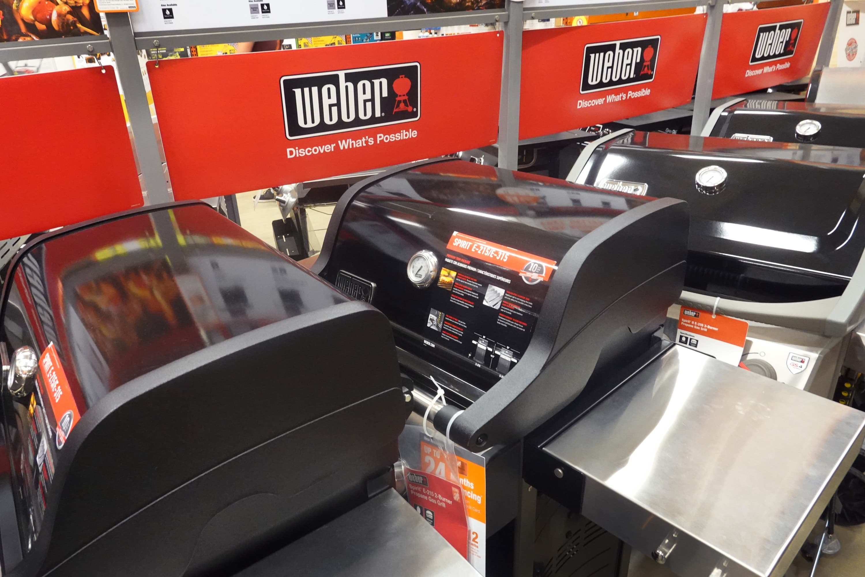 Weber Grills has plans to launch a new line, CEO Chris Scherzinger told CNBC on Thursday ahead of the company's public listing Aug. 5.