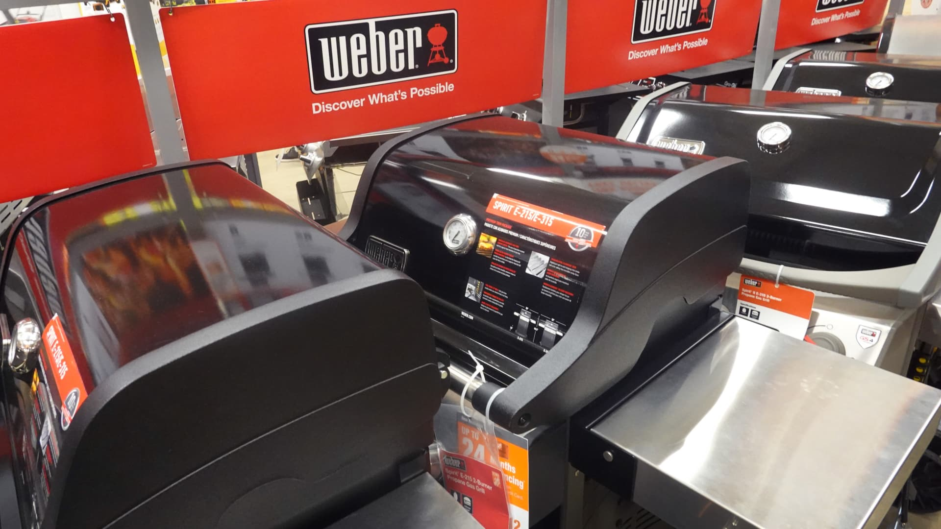 Weber, which plans to trade on the New York Stock Exchange under the ticker 'WEBR' could be valued between $4 billion and $6 billion.