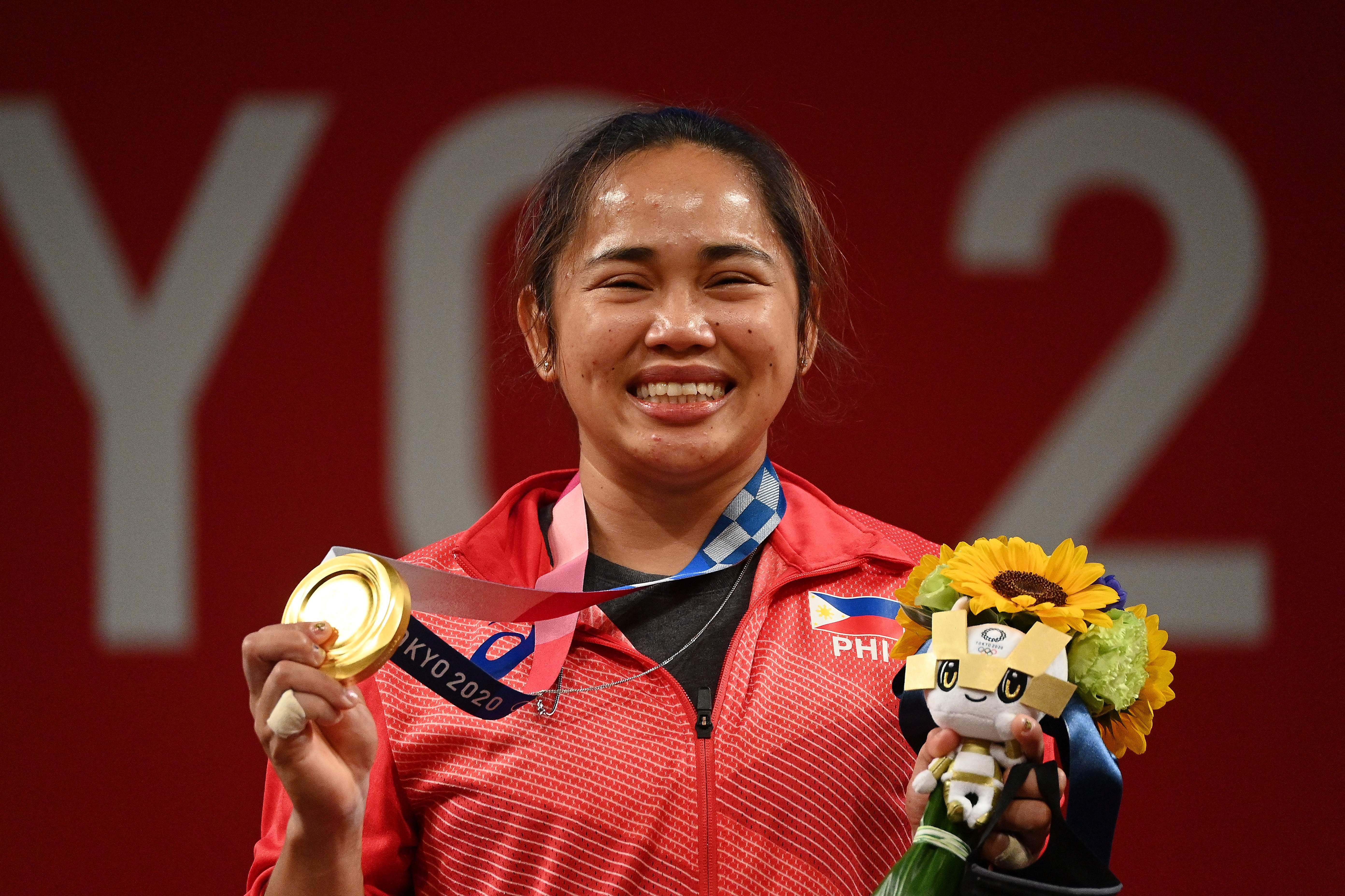 Philippines' first Olympic gold medalist was once linked to an alleged plot to oust Duterte