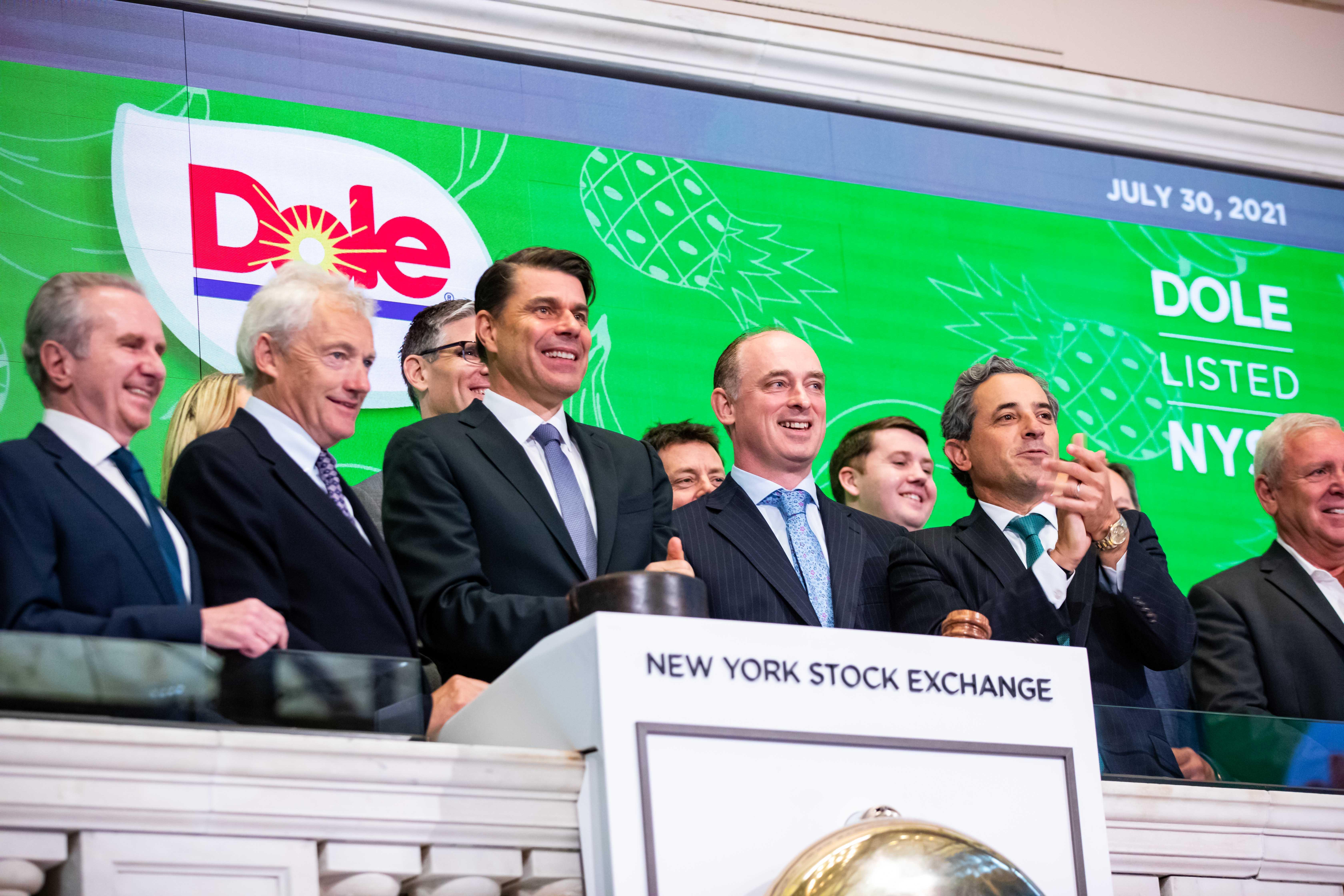 Dole stock slides 6% in public market debut on New York Stock Exchange